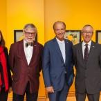 Mme Line Ouellet, M. John R. Porter, M. Pierre Lassonde, M. Yvon Charest et Mme Annie Talbot